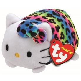 Hello Kitty színes plüssfigura - 10 cm