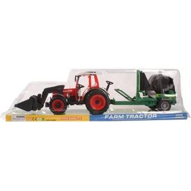 Lendkerekes farm traktor utánfutóval - 55 cm Itt egy ajánlat található, a bővebben gombra kattintva, további információkat talál a termékről.