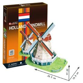 Híres épületek 45 darabos 3D puzzle - többféle