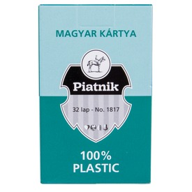 Plasztik magyar kártya Itt egy ajánlat található, a bővebben gombra kattintva, további információkat talál a termékről.