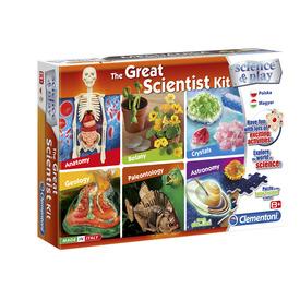 Tudomány és Játék - Nagy kísérletező készlet, 6 az 1-ben tudományos játék