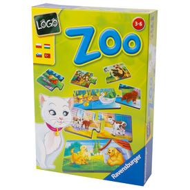 Logo Zoo állatok és kölykeik társasjáték