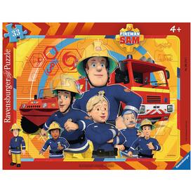 Puzzle 33 db - Tűzoltó Sam