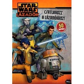 Star Wars Lázadók matricás foglalkoztató füzet