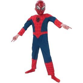 Pókember: Ultimate Spiderman deluxe jelmez - 116-os méret Itt egy ajánlat található, a bővebben gombra kattintva, további információkat talál a termékről.