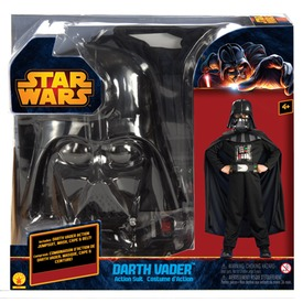 Star Wars: Darth Vader jelmez - 112-122 cm