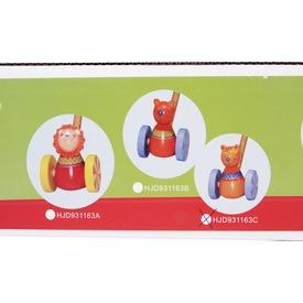 Fa tologatós játék kisállattal - többféle Itt egy ajánlat található, a bővebben gombra kattintva, további információkat talál a termékről.