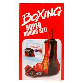 Boxzsák és boxkesztyű készlet hanggal Itt egy ajánlat található, a bővebben gombra kattintva, további információkat talál a termékről.