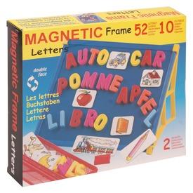 Mágneses rajztábla betűkkel