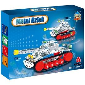 Tank 198 darabos fém építőjáték