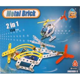 Helikopter 2 az 1-ben 158 darabos fém építőjáték Itt egy ajánlat található, a bővebben gombra kattintva, további információkat talál a termékről.