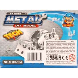 Munkagép mini fém építőjáték - többféle