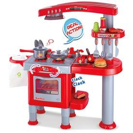 Játékkonyha 33 kiegészítővel - piros, nagy Itt egy ajánlat található, a bővebben gombra kattintva, további információkat talál a termékről.