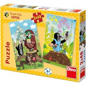 Kisvakond meséi 2 x 48 darabos puzzle Itt egy ajánlat található, a bővebben gombra kattintva, további információkat talál a termékről.