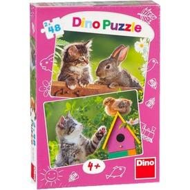 Cicák és barátaik 2 x 48 darabos puzzle Itt egy ajánlat található, a bővebben gombra kattintva, további információkat talál a termékről.