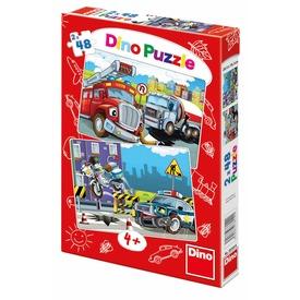 Rendőrök és tűzoltók 2 x 48 darabos puzzle Itt egy ajánlat található, a bővebben gombra kattintva, további információkat talál a termékről.