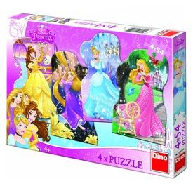 Disney hercegnők 4 x 54 darabos puzzle Itt egy ajánlat található, a bővebben gombra kattintva, további információkat talál a termékről.