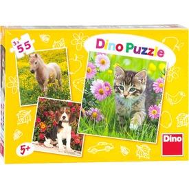 Állatkölykök 3 x 55 darabos puzzle Itt egy ajánlat található, a bővebben gombra kattintva, további információkat talál a termékről.