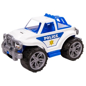 Műanyag rendőr terepjáró - 35 cm