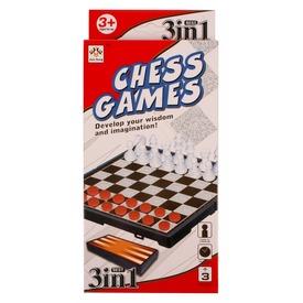 3 az 1-ben sakk és társasjáték készlet Itt egy ajánlat található, a bővebben gombra kattintva, további információkat talál a termékről.