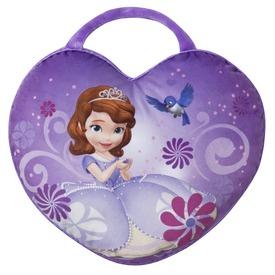 Szófia hercegnő Szív alakú plüss díszpárna - 36 x 28 cm Itt egy ajánlat található, a bővebben gombra kattintva, további információkat talál a termékről.