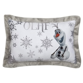 Jégvarázs Olaf plüss díszpárna - 42 x 28 cm