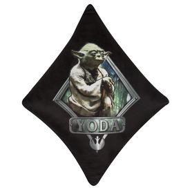 Star Wars: Yoda plüss díszpárna - fekete-zöld, 27 x 28 cm Itt egy ajánlat található, a bővebben gombra kattintva, további információkat talál a termékről.