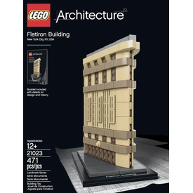 LEGO Architecture New York Flatiron Building 21023