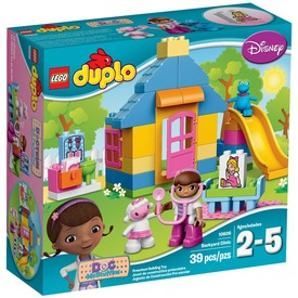 LEGO DUPLO Doc McStuffins udvari rendelője 10606 Itt egy ajánlat található, a bővebben gombra kattintva, további információkat talál a termékről.