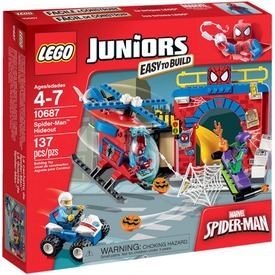 LEGO Juniors Spider-Man™ búvóhelye 10687