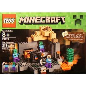 LEGO Minecraft A tömlöc 21119 Itt egy ajánlat található, a bővebben gombra kattintva, további információkat talál a termékről.
