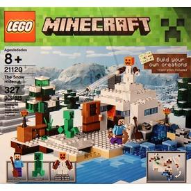 LEGO Minecraft Búvóhely a hóban 21120 Itt egy ajánlat található, a bővebben gombra kattintva, további információkat talál a termékről.