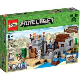 LEGO Minecraft Sivatagi kutatóállomás 21121 Itt egy ajánlat található, a bővebben gombra kattintva, további információkat talál a termékről.