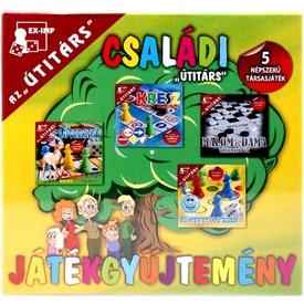 Az útitárs családi játékgyűjtemény Itt egy ajánlat található, a bővebben gombra kattintva, további információkat talál a termékről.