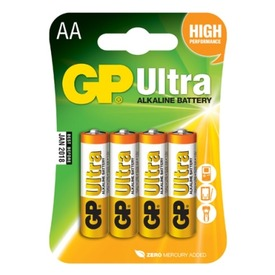 GP Ultra AA ceruzaelem 4 darabos készlet