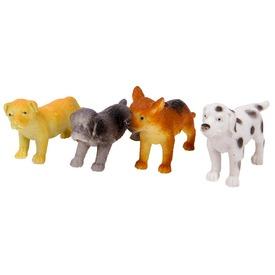Műanyag kutyák csomagban