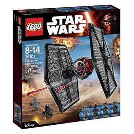 LEGO Star Wars Első rendi TIE vadászgép 75101 Itt egy ajánlat található, a bővebben gombra kattintva, további információkat talál a termékről.