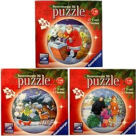 Karácsony 54 darabos puzzleball - többféle Itt egy ajánlat található, a bővebben gombra kattintva, további információkat talál a termékről.