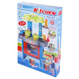 Játékkonyha világítással - kék Itt egy ajánlat található, a bővebben gombra kattintva, további információkat talál a termékről.