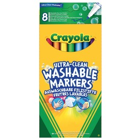 Crayola: extra 8 darabos kimosható vékony filctoll