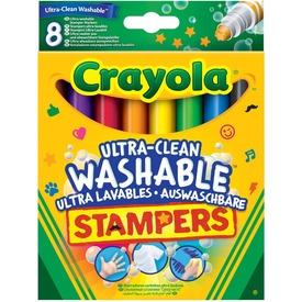 Crayola: extra 8 darabos kimosható nyomdafilc Itt egy ajánlat található, a bővebben gombra kattintva, további információkat talál a termékről.