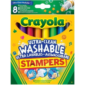 Crayola: extra 8 darabos kimosható nyomdafilc