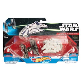 Hot Wheels Star Wars Csillaghajók 2-es csom. CGW