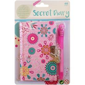 Bagoly mintás titkos napló