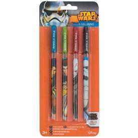 Zselés toll, 4 db /csomag - Star Wars Itt egy ajánlat található, a bővebben gombra kattintva, további információkat talál a termékről.