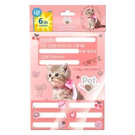 Zsúrmeghívó, matricás PET  Itt egy ajánlat található, a bővebben gombra kattintva, további információkat talál a termékről.