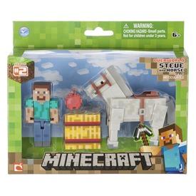 Minecraft Steve és ló figura készlet - 7 cm Itt egy ajánlat található, a bővebben gombra kattintva, további információkat talál a termékről.