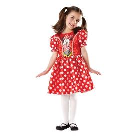 Minnie egér jelmez - piros, 104 cm
