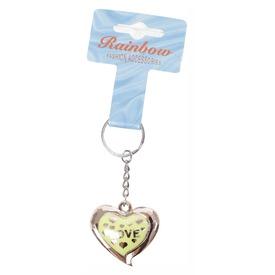 Aranyszínű szívecske kulcstartó - többféle Itt egy ajánlat található, a bővebben gombra kattintva, további információkat talál a termékről.