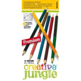 Dupla színű ceruza 12 darabos készlet